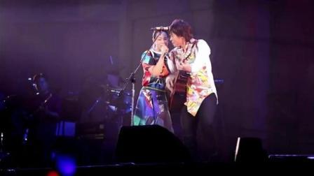 刘若英和伍佰合作《挪威的森林》, 全场大合唱, 场面温馨