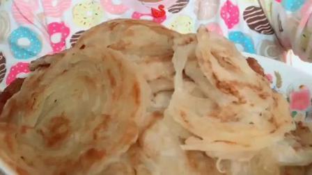 美食大胃王: 大姐自做手抓饼, 一口一个吃的太香了!