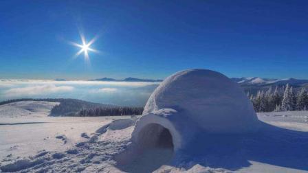 分钟科学 爱斯基摩人住在冰屋里为什么不觉得冷?