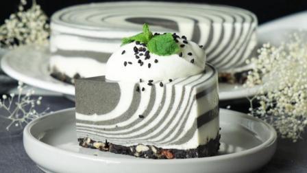 奥利奥斑马蛋糕的做法, 入口即化, 蛋糕店都买不到, 做法超简单