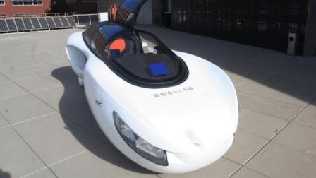 中国首创两轮电动汽车, 永远撞不到, 女司机再也不用怕了