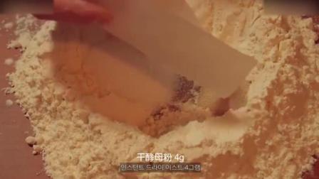 慕斯蛋糕教程烘焙教学-超满足的芝士面包蛋糕制作