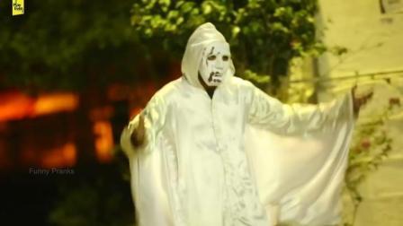 街头恶搞三更半夜小丑杀人。