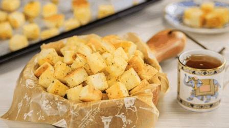 美食自己做-意式面包丁