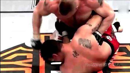 恶棍大白熊, 当战斗民族遇到了UFC, 招招都这么狠!