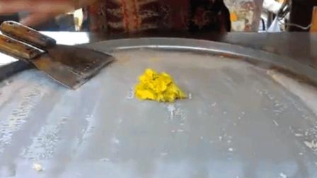 实拍榴莲冰淇淋制作过程, 这样的冰淇淋你敢吃吗?