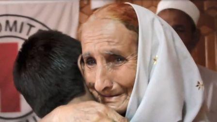 最珍贵的就是团聚时的拥抱和泪水