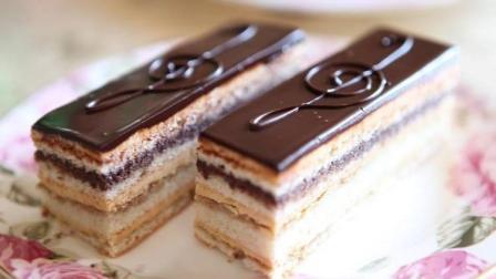 法国歌剧院蛋糕, 甜品做法复杂, 懒人蛋糕绕路, 吃货必看~