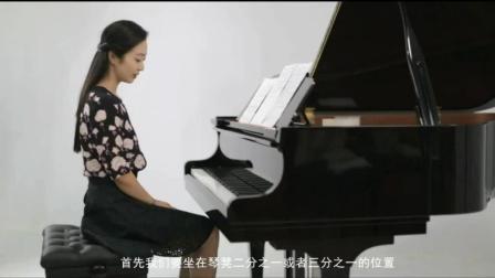 钢琴五线谱入门_汤姆森简易钢琴教程1_五线谱钢琴基础教程