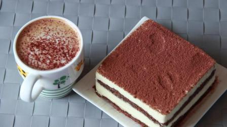 和我一起做提拉米苏蛋糕 咖啡蛋糕底口感更佳哦~