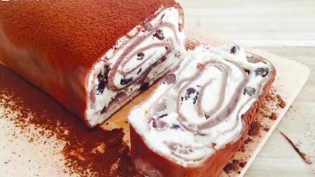 网上爆红的甜点毛巾蛋糕, 出教程啦! 就是这么做的! 赶快学起来~