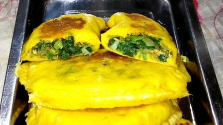 菠菜盒子这样做, 比韭菜盒子还好吃, 营养美味做法简单