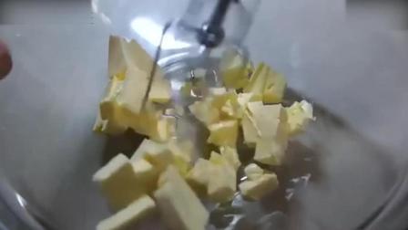烘焙视频烘焙教学-元气满满的黄金磅蛋糕! 3做奶油