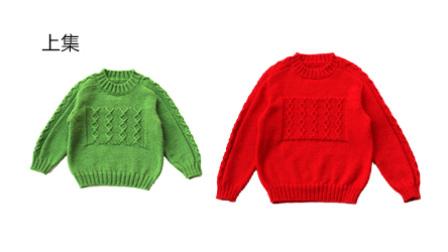 【乖诺诺】红了樱桃,绿了芭蕉(上集)马鞍肩简约棒针花样新年毛衣 全程零基础棒针超清视频教程