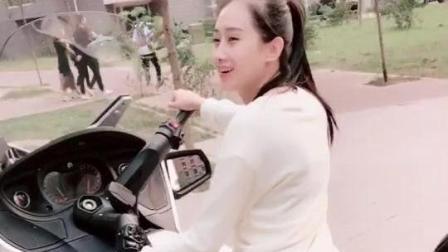 美女: 哪位帅哥肯赏脸坐我的新坐骑, 让我载你去天涯海角,