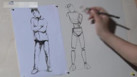 学习油画儿童素描教程电子书, 素描入门练习图, 零基础速写教程中国油画大全
