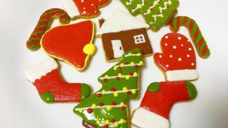 例外 自制圣诞饼干 不用再愁圣诞节不知道送什么礼物了