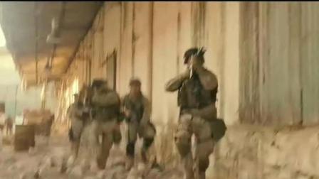 美军作战部署干掉敌军狙击手, 战术堪称一流!