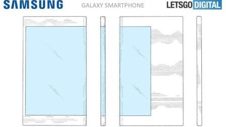 三星这下被iPhone X逼急了! 可折叠手机提前亮相: 屏占比惊!