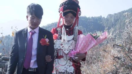 彝人视角彝族结婚彝族婚礼幸福的彝族新人生活看着让人羡慕