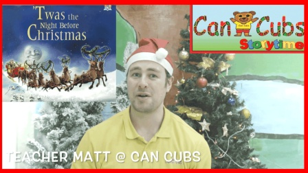 Twas the night before Christmas | Can Cubs storytime