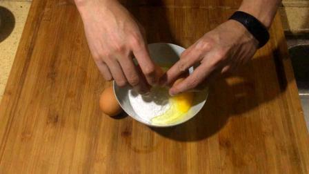 火腿葱花鸡蛋饼做法简单, 咸香软嫩, 大人小孩都爱吃