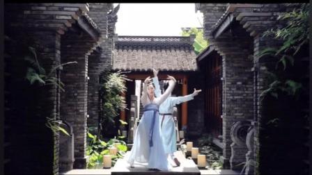 """传统文化的魅力, 汉服双人古典舞蹈""""相思入骨"""""""