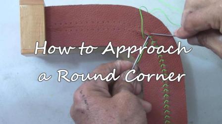 【转载】拼接缝和-转角缝合Hand Sewing Stitching on a Rounded Corner