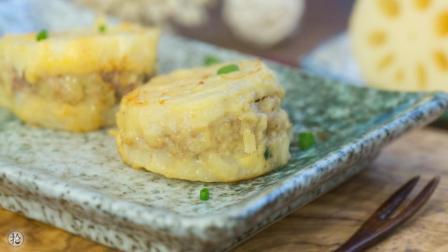 最适合秋冬的家常菜 , 就是这道外酥里嫩的香煎藕夹