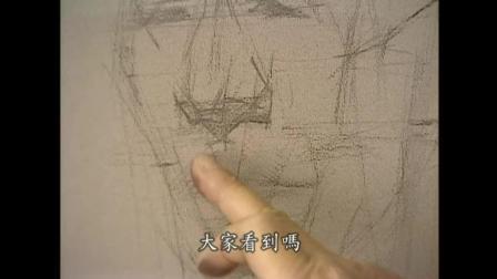 油画直接画法几何素描教学视频_徐悲鸿素描_素描教学视频全套素描培训班多少钱