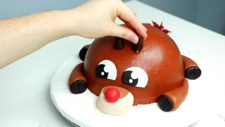 最爱看国外高手做蛋糕, 做的真漂亮, 这样的蛋糕给我都不舍得吃掉