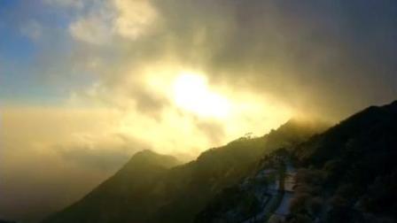 航拍泰山, 这景色令人目瞪口呆, 上帝看了还想看