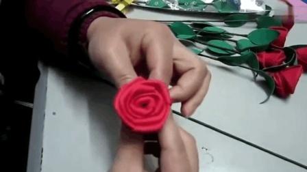 手工花艺玫瑰花, 手把手教你做创意花束! 学会可以做送给女朋友