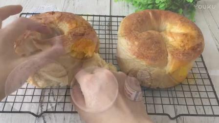 学做烘焙面点视频教程 手撕面包的制作方法hn0 烘焙裱花视频教程全集