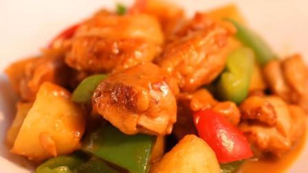 红烧鸡肉的做法超简单, 慢火少水是诀窍, 步骤详细, 味道好吃!