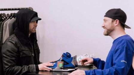 天价神鞋回归 Eminem x Air Jordan 4 Encore 全球限量23双