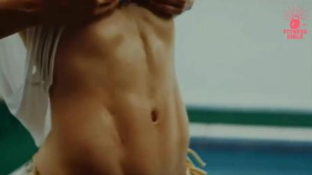 肌肉诱惑! 哥伦比亚健身女神Anllela Sagra 每一寸肌肉纤毫可鉴