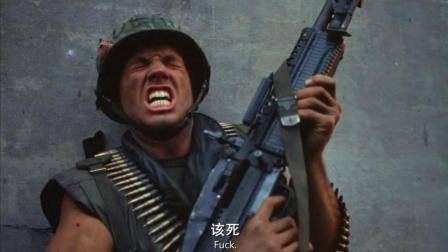 重机枪猛男在战场上为救队友, 被敌人架枪! 这种情况你会怎么打?