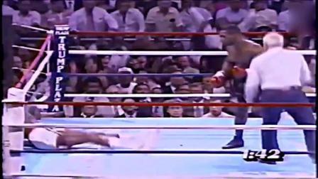 这个拳王被泰森一个重拳直接飞, 醒过来以后还是不服气!