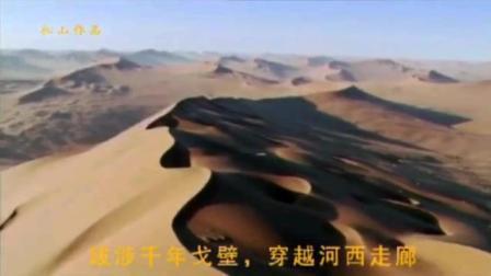 大漠孤烟丝绸之路《梦回楼兰》仿佛又看到楼兰公主轻纱裙曼舞! 创意太美了!