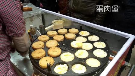 农村街头的新型小吃, 花样众多做法复杂, 大人小孩都排队买着吃