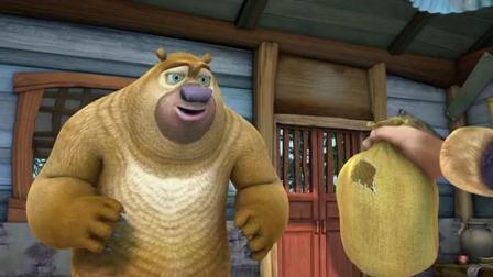 熊出没: 熊二与强哥的友好日子 一起研磨咖啡 味道还那么美味