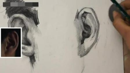 无锡美术培训素描入门图片_人物头像素描教学_速写人物教程动漫素描