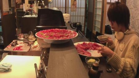 日本大胃王耳机小哥, 吃一条30斤的金枪鱼, 这次吃的太爽了, 过瘾