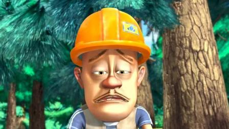 这么热的天让光头强怎么去砍树
