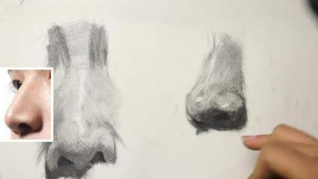 新视觉美术素描 英语_高考美术培训班_素描入门第一课2人物素描教程