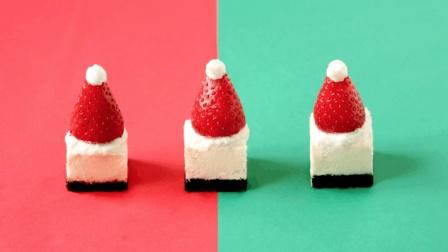小仙女专属的圣诞帽芝士蛋糕