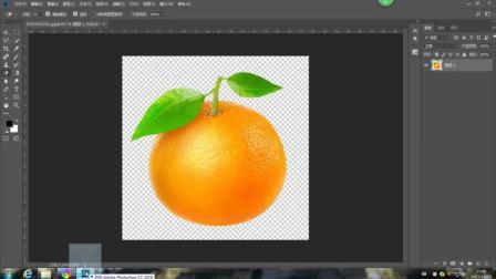 PS合成用橙子拉链外衣包裹的李子图片
