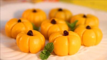 正宗南瓜馒头的家常做法, 蓬松柔软, 清甜可口, 漂亮又好吃!