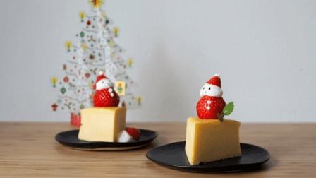 一分钟学做圣诞芝士蛋糕! 芝士就是力量!